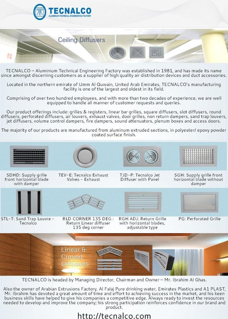 Sound Attenuators - by Tecnalco Tecnalco [Infographic]