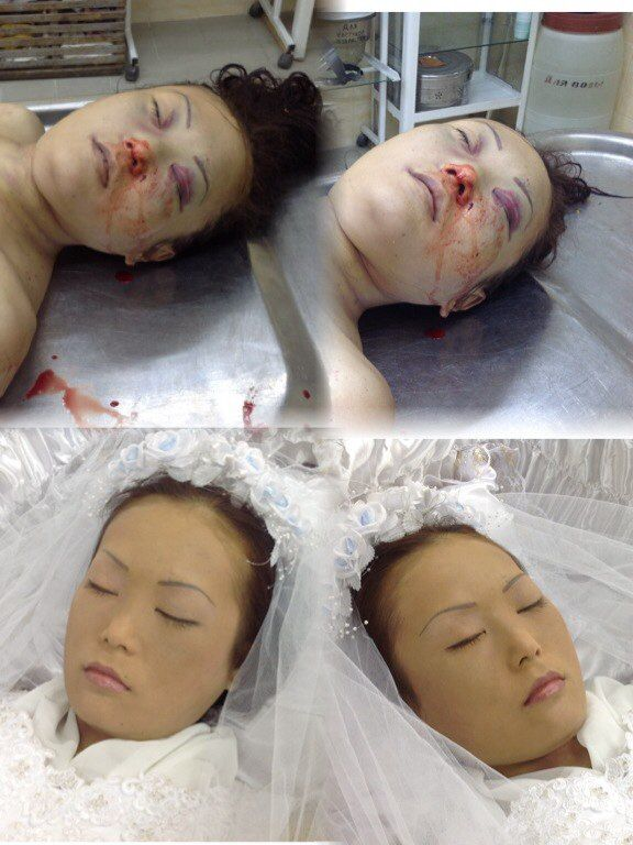 Embalming pictures funeral home.