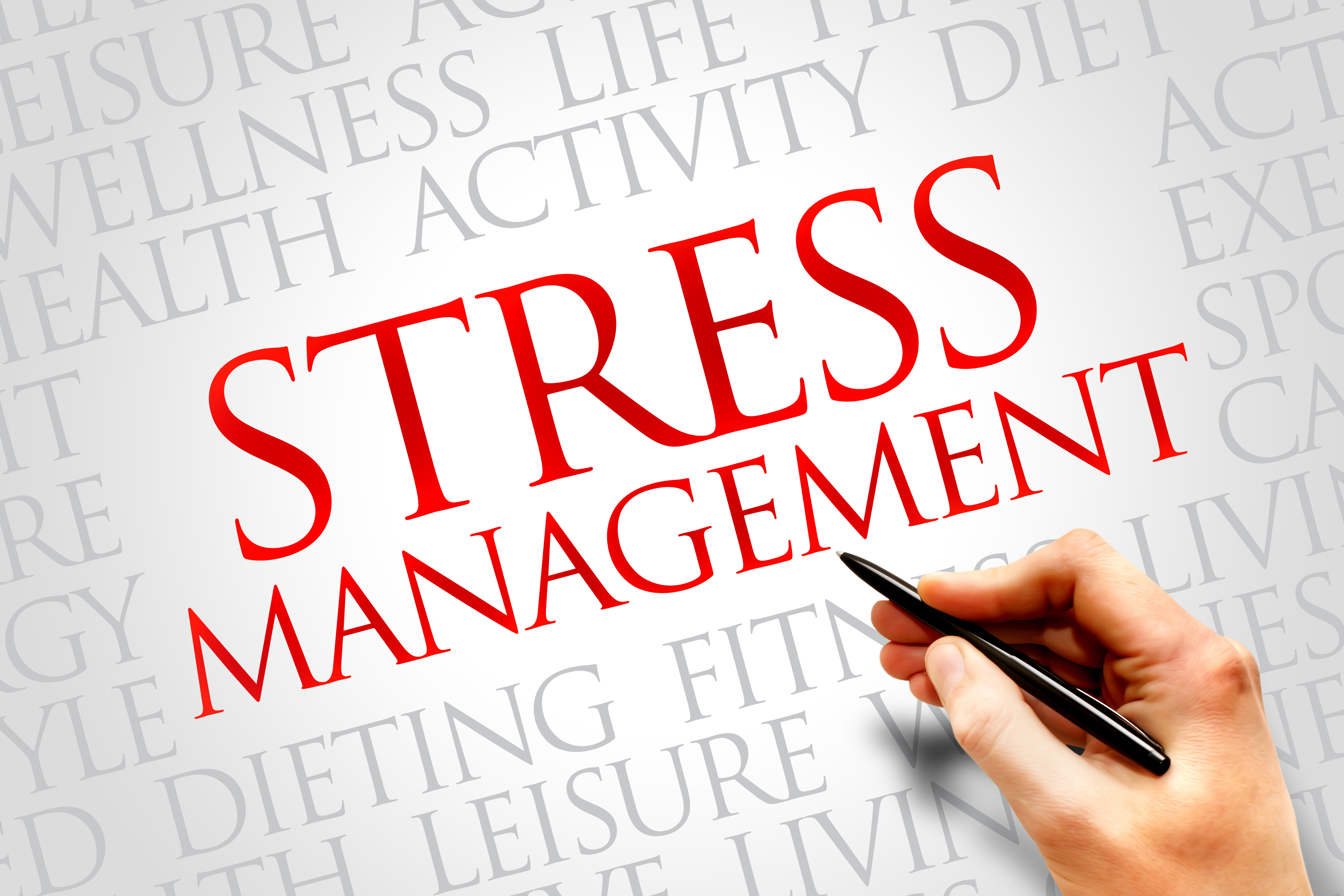 Stress management - by cheybitter . [Infographic]