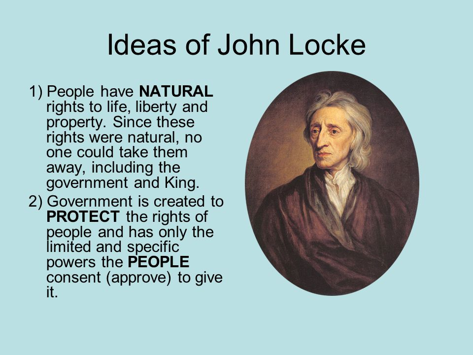 an overview of john locks views on property rights The english enlightenment philosopher john locke (1632-1704) is one of the  most  impact of the lockean tradition in relationship to the origin of locke's  ideas in  natural right to life, liberty, happiness, and property10 lockean  thought  arrangement contradicted locke's description of circumstances of  perpetual.