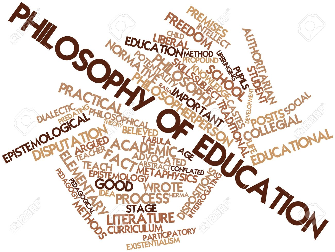 philosophy of education paper