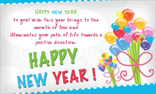 Happy New Year Wishes - by New Year Wishes [Infographic]