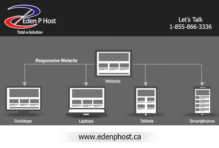 Responsive Website Development Toronto - Eden P Host | Venngage ...