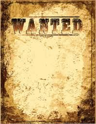 Wanted Poster by Hannah McCall Infographic