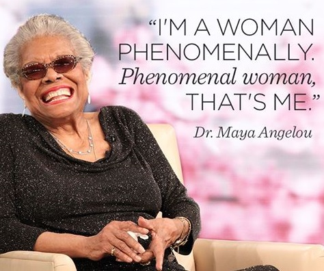 Phenomenal Woman Quotes Magnificent Phenomenal Woman  Maya Angelou Infographic Meghan Cunningham