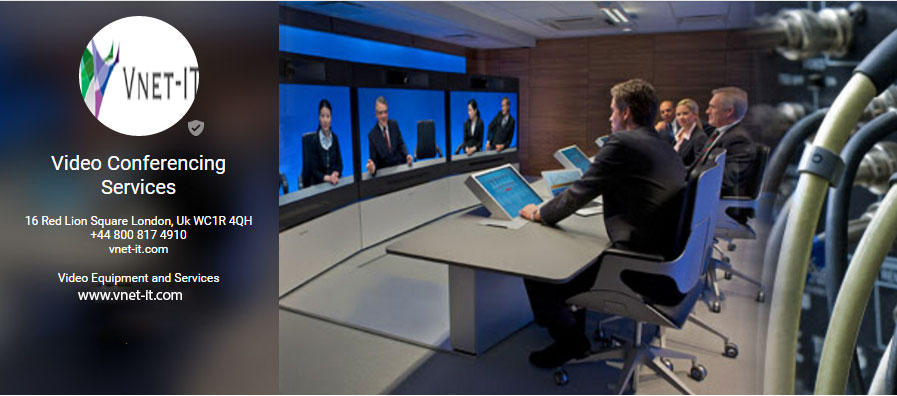 Video Conferencing Equipment Hire - by Vnet Ituk [Infographic]