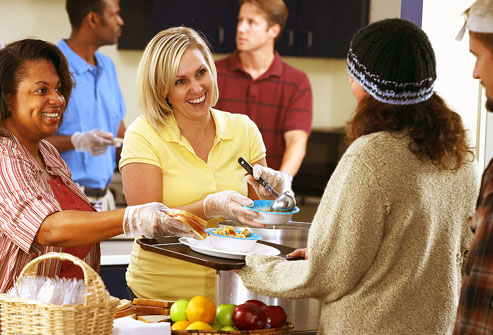 Soup Kitchen Staff Take Work Home With Them - Elijah's Promise