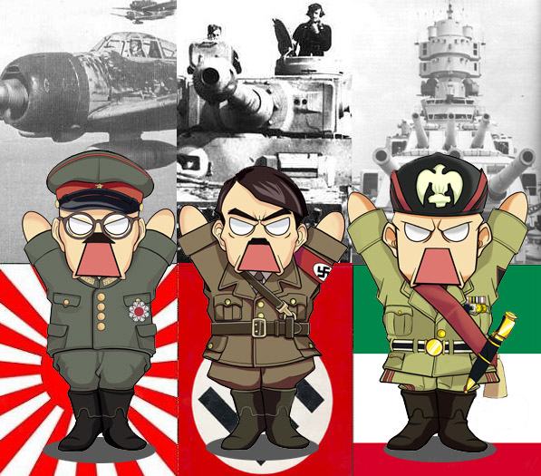 allied powers vs axis powers