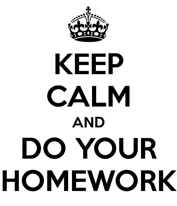 Do all my homework