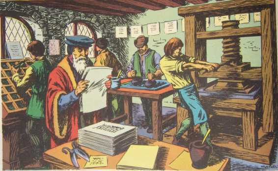 It Was Possible Thanks To The Earlier Inventions Of Movable Type And Woodblock They Helped Get Letters On Page