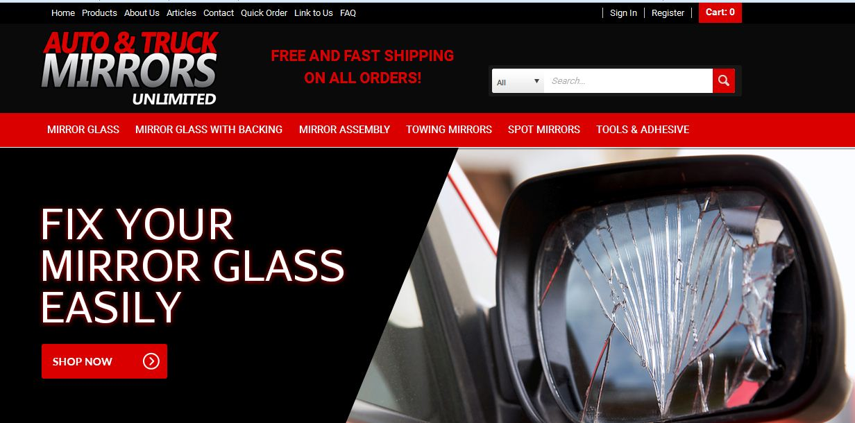 Side Mirror Glass Replacement By Angel Jolie Jolie