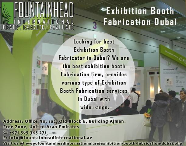 Exhibition Stand Fabricators In Dubai : Exhibition stand fabrication dubainew report title by fountainhead