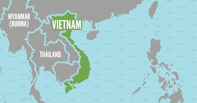 Beautiful Vietnam World Map Images - World Maps - taigamevn.info