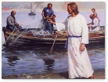 ATL Project - Jesus Calls Disciples - by Sarah Salisbury [Infographic]