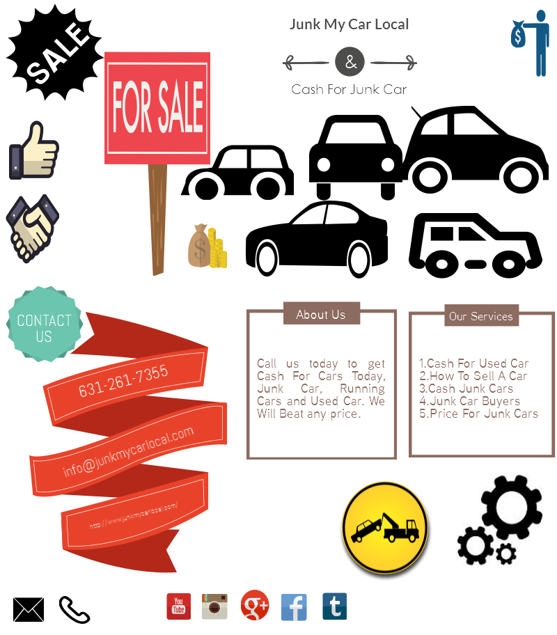 Cash For Junk Car - by jack worner [Infographic]