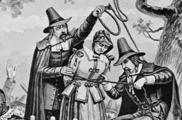 Salem Witch Trials Burning At The Stake
