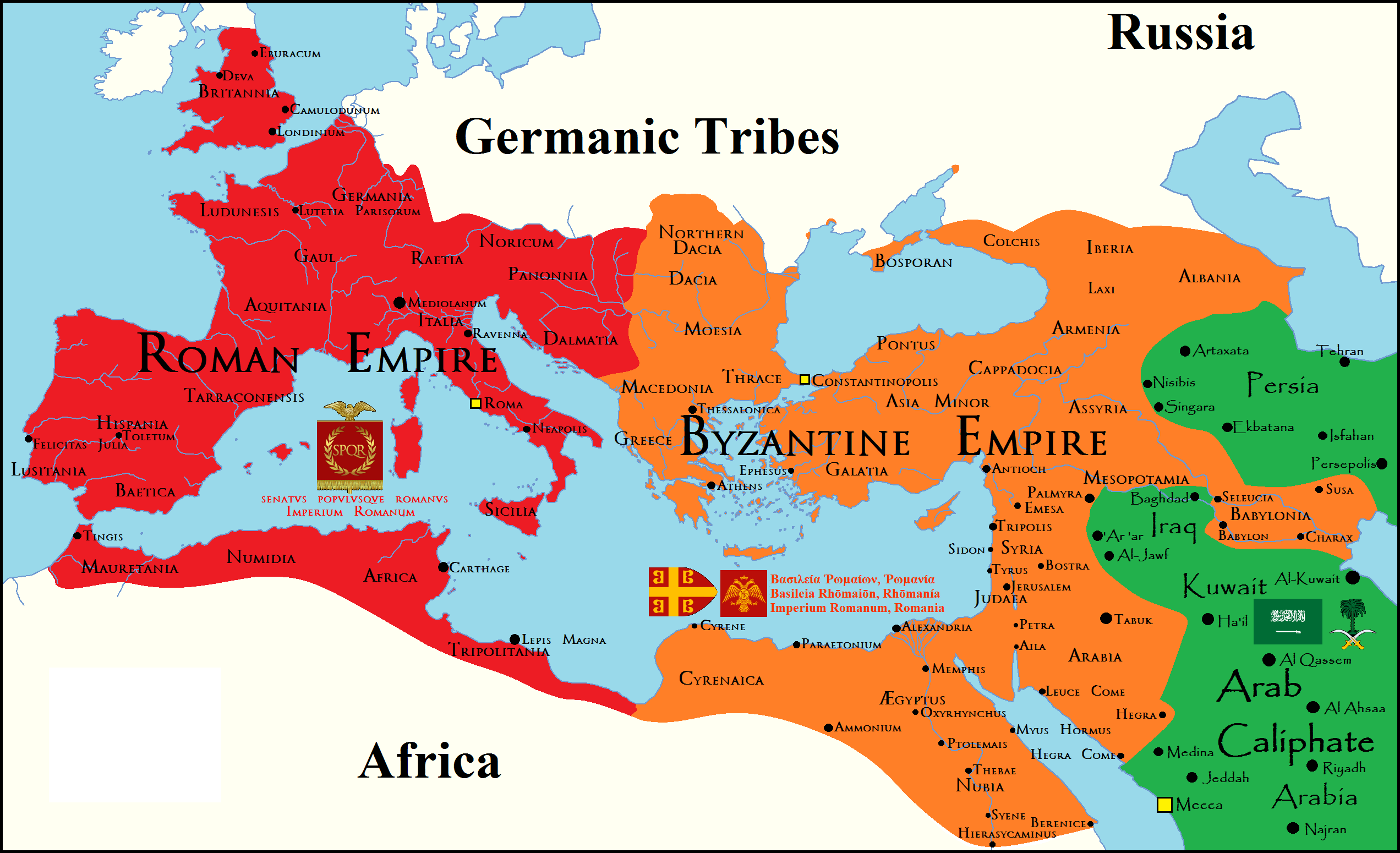 The Roman Empire By Male Malu Infographic