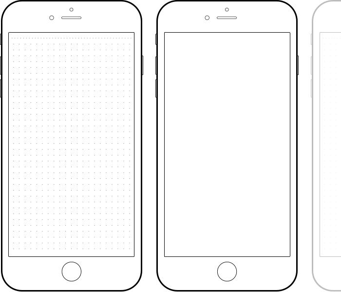 Iphone Paper Prototype Template