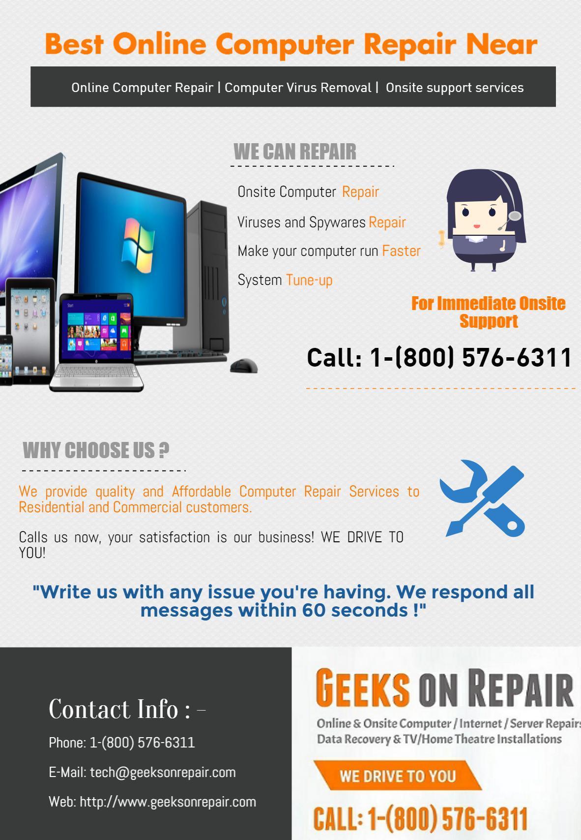 Best Online Computer Repair Near Me - by riya dhatwalia