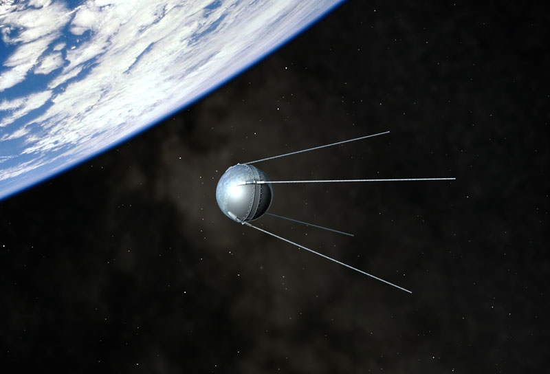 Today in history� the world learns a new word � �Sputnik�