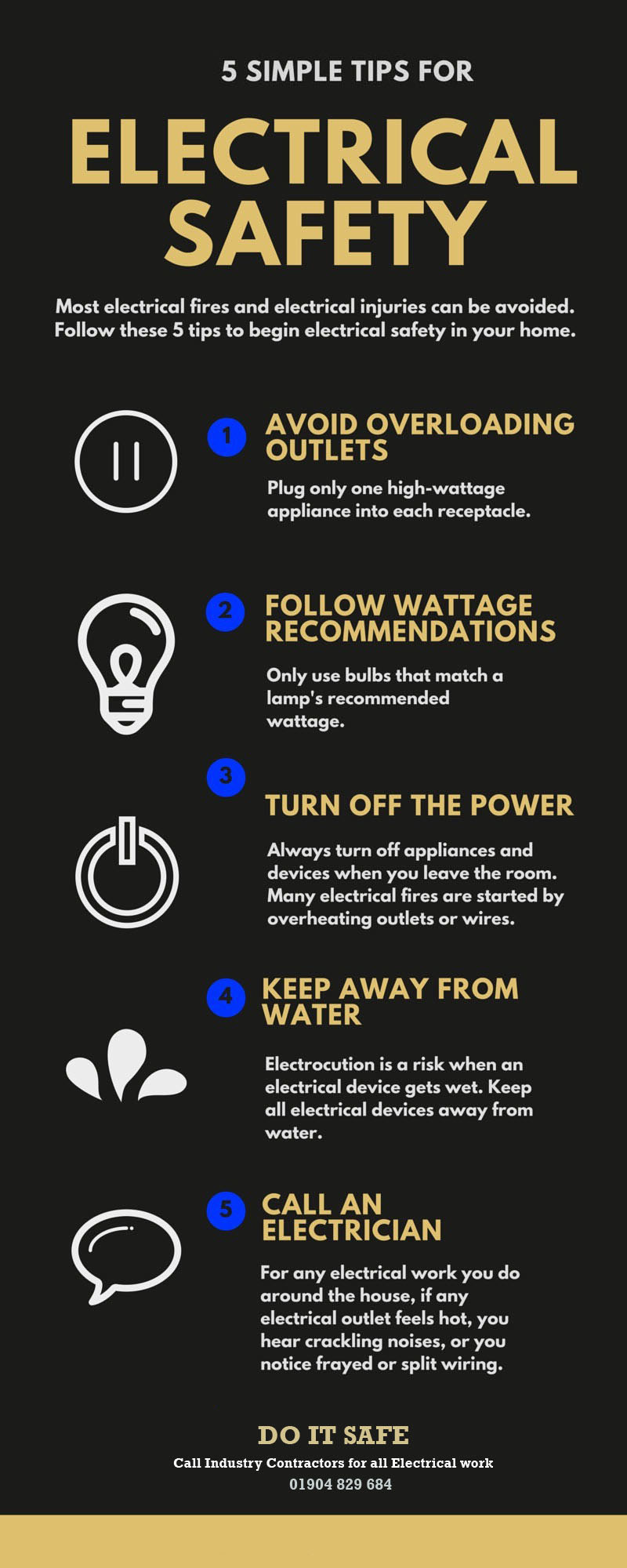electrical safety tips by ashley love infographic rh infograph venngage com General Home Safety Tips Pool Safety Tips