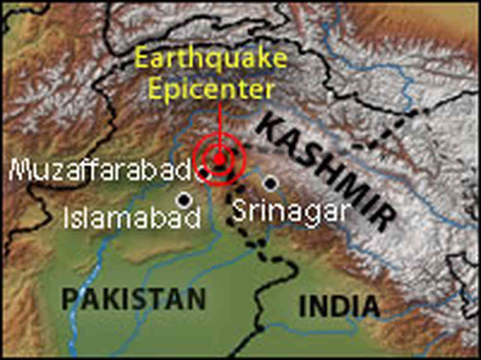 New report title by maria lopez infographic the kashmir earthquake had a depth of 23 killometers publicscrutiny Image collections
