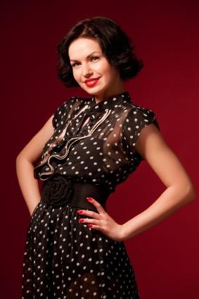 Dress up like the 50s school fashion