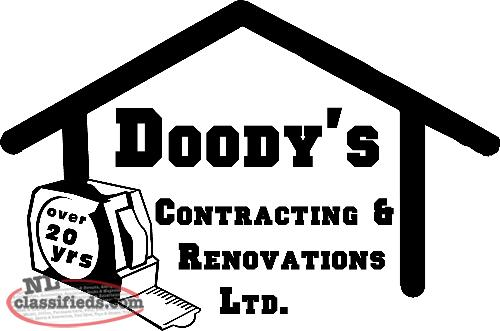 DOODY'S CONTRACTING AND RENOVATIONS LTD.