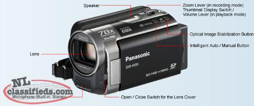 Panasonic Compact Camcorder with 33mm Wide Angle