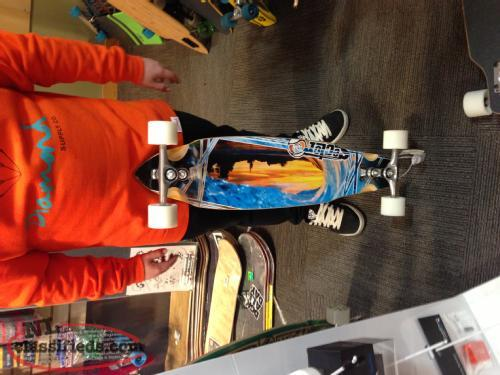 Sector Nine Sidewinder Chamber Complete Longboard For Sale