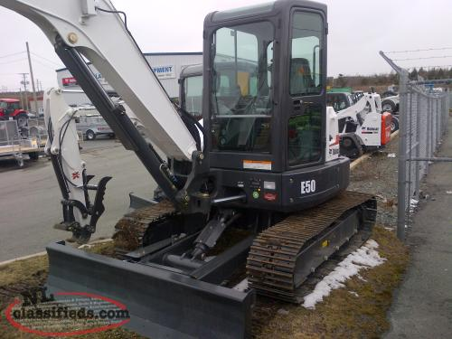Bobcat E50 Excavator - pic 1  of 4