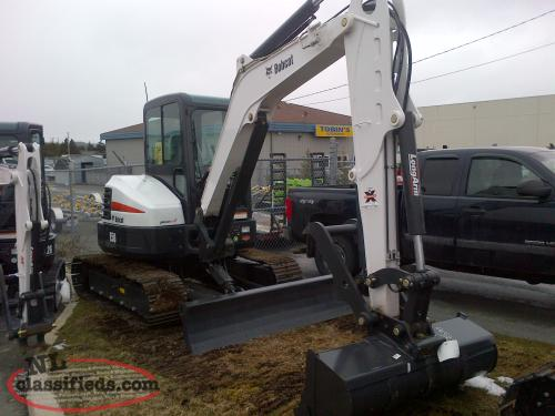Bobcat E50 Excavator - pic 2  of 4