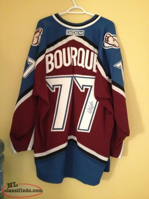 Ray Bourque Autographed Jersey