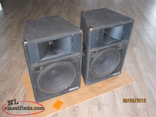 Yamaha commercial speakers stands st philips for Yamaha commercial audio