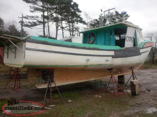 Fishing boat for sale in nova scotia