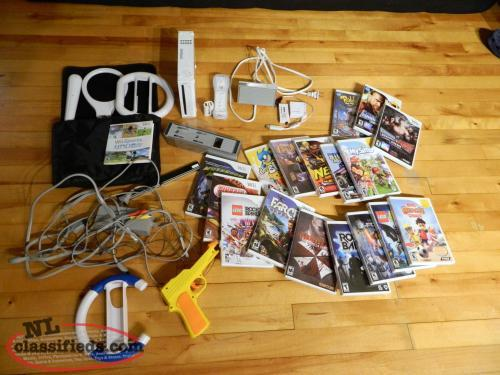 WII Console and Games FOR SALE - pic 1  of 10