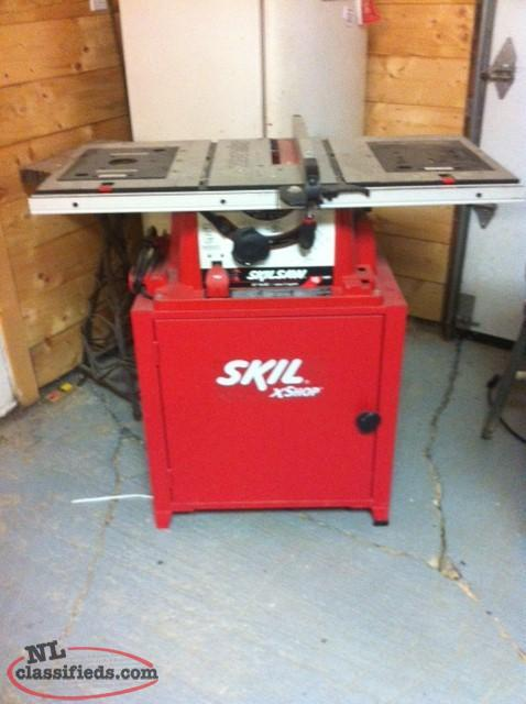 Power tools nl classifieds for 10 inch skil table saw