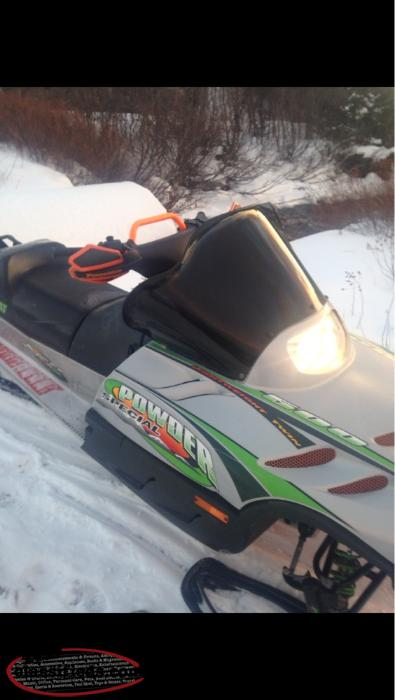 Open To Offers Arctic Cat 500 Powder Special