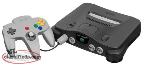 Wanted to Buy : Nintendo 64 and Games