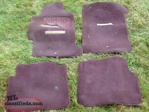 1992 honda accord 2 dr floor mats torbay newfoundland for 1992 honda accord floor mats