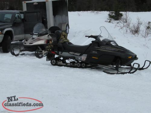 Ski doo grand touring 2002 cadillac