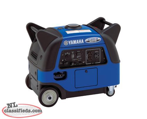 Save $450.00 On A New Yamaha EF3000iSE Inverter Generator With Electric Start