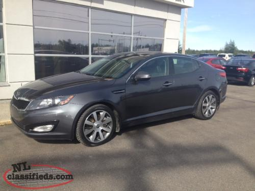 2011 Kia Optima EX LUX Platium Graphite (TO68886A)REDUCED TO GO!! - pic 1  of 4