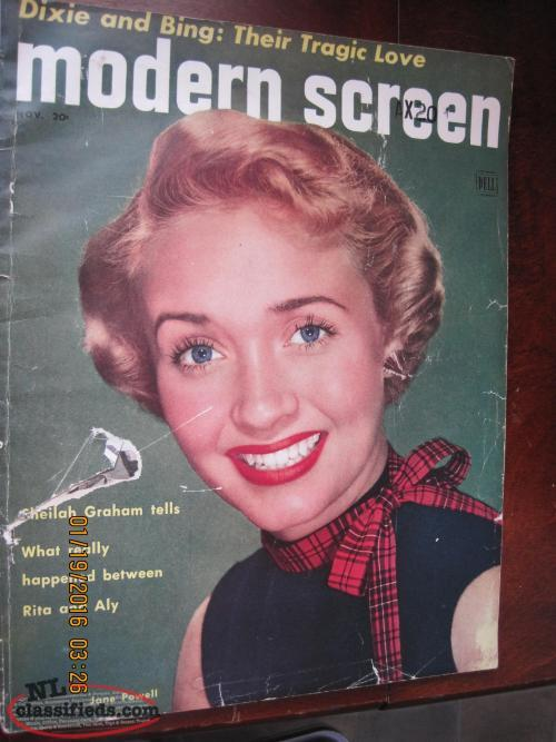 1952 Modern Screen Magazine (64 yrs old)