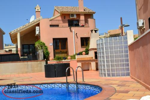 SPAIN - Beautiful 3-Bedroom Villa with Private Pool