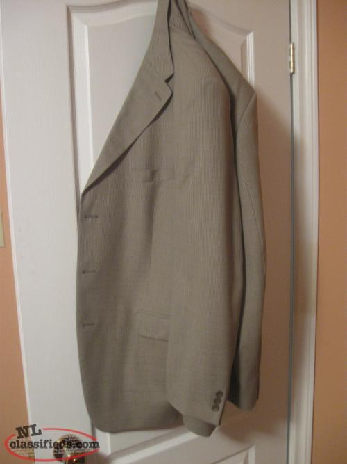 2- MEN'S SPORT JACKET'S--LIKE NEW