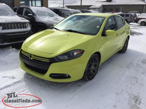 2013 dodge dart rallye turbo gander newfoundland. Black Bedroom Furniture Sets. Home Design Ideas