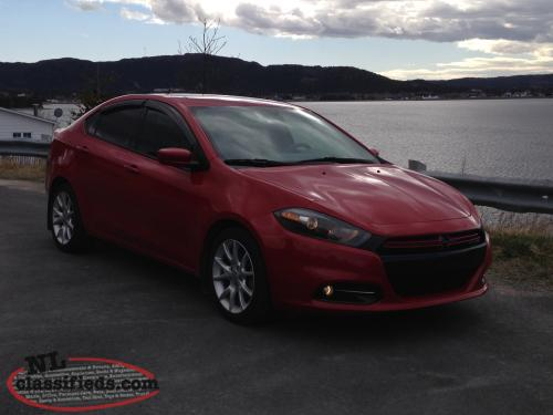 2013 dodge dart rallye 1 4 multiair turbo new lower price st john 39 s newfoundland. Black Bedroom Furniture Sets. Home Design Ideas