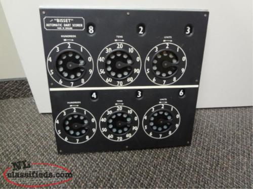 Wanted to Buy a Bisset Dart Score Board