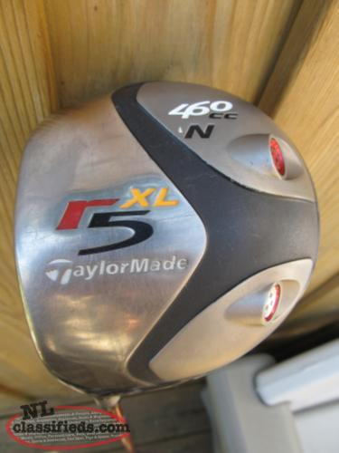 LOWERED PRICE Taylormade R5 xl 460cc n Left Hand Driver 9.5 deg..Great shape!!